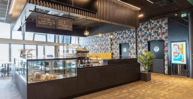Kafé/restaurant i SNØ.
