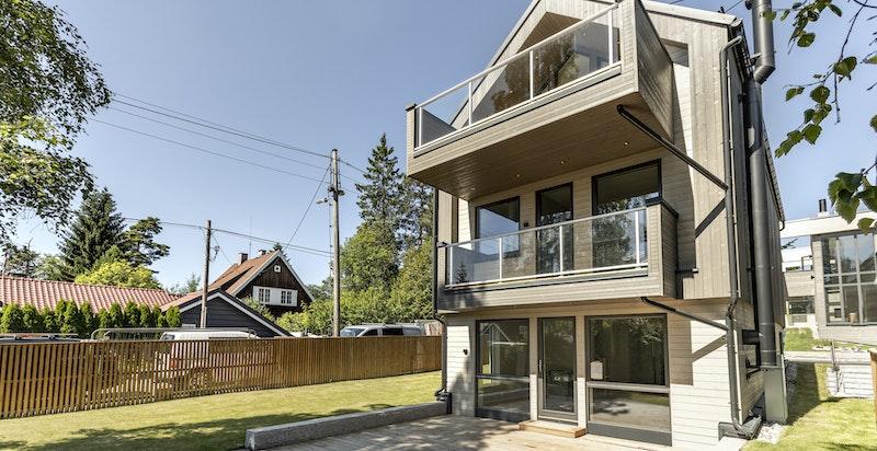 Moderne og funksjonabel bolig