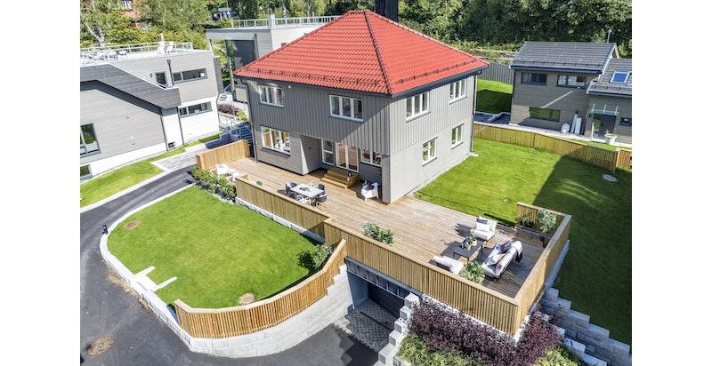 Oversiktsbilde av eiendommen