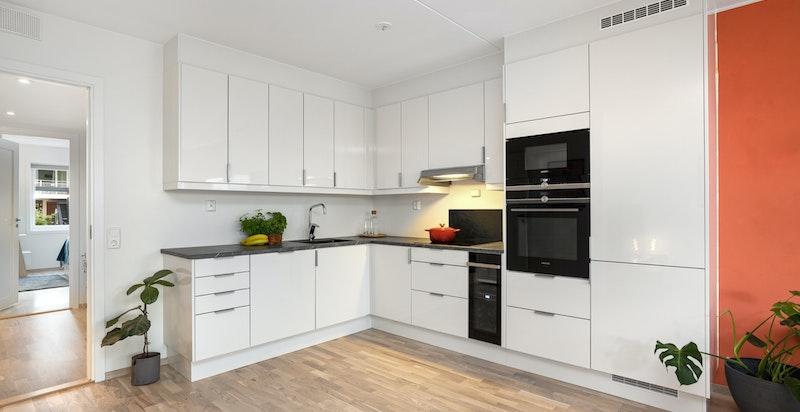 Kjøkken med tidløs innredning fra Sigdal