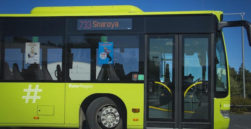Området gir mulighet for offentlig kommunikasjon via buss.