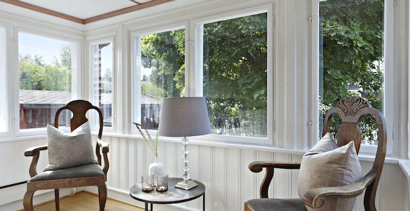 Innglasset veranda/havestue