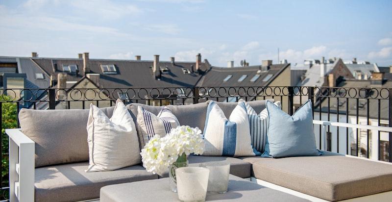 Detalj terrassen