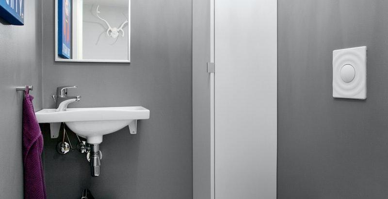 Eget ekstra gjeste-wc med adkomst fra entré/hall