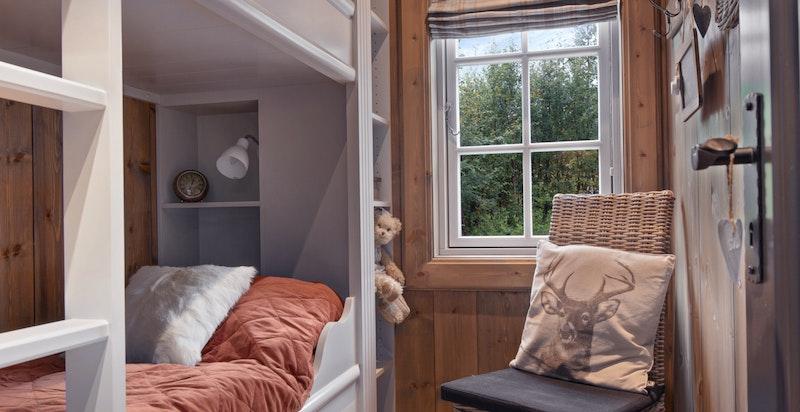 Soverom 4 med plassbygde senger