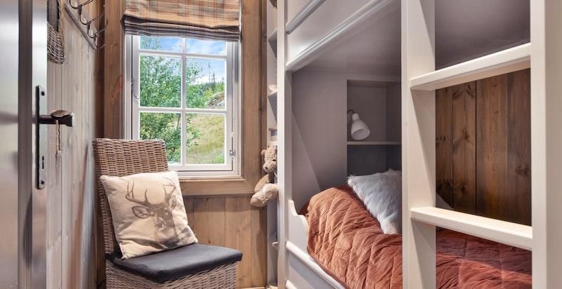 Soverom 5 med plassbygde senger