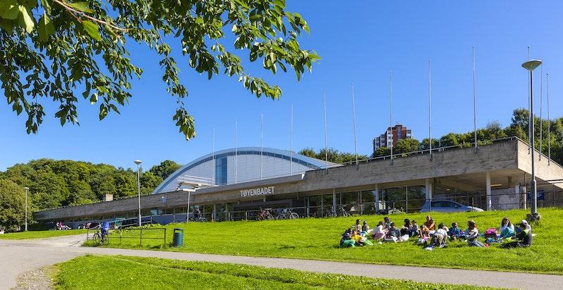 Oslo kommune bygger et nytt og moderne badeanlegg på Tøyen. Det står ferdigstilt i 2023.