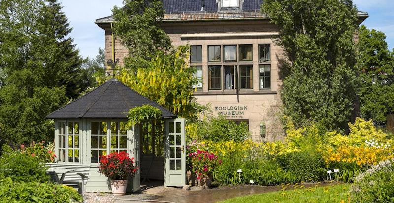 Botanisk Hage ligger kun få minutters gange fra boligen.
