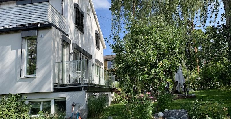 Fasade/uteområde
