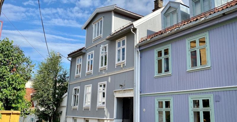 Sjarmerende trehusbebyggelse på hyggelige Rodeløkka
