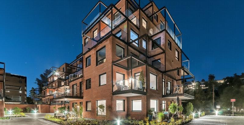 Velkommen til Skaret - et boligprosjekt utviklet av Solon Eiendom