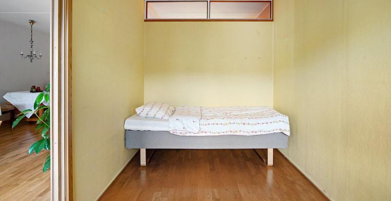 Soverom (med plass til dobbeltseng)