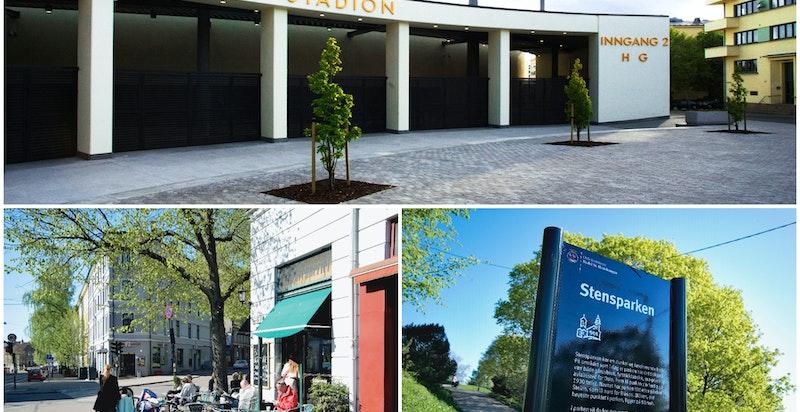 Eugenies gate 3 A har en god beliggenhet på Bislett og er et godt utgangspunkt for å nyte godt av byens mangfoldige fasiliteter.