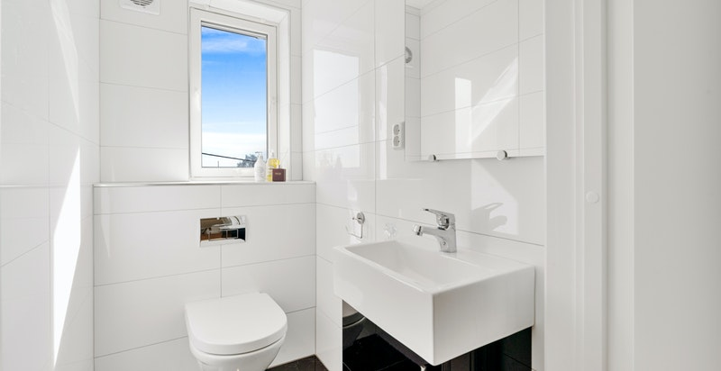 Toalettrom i soveromsetasjen