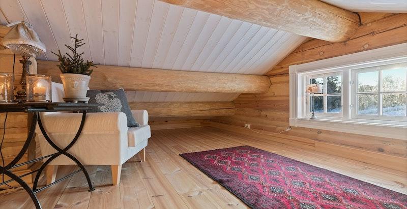 Liten intim hems, gulvareal på ca 43 kvm.
