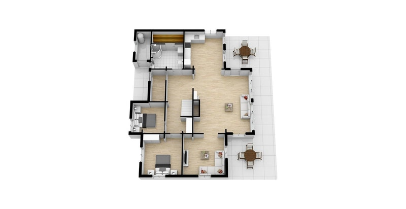 3D plan 1 etg