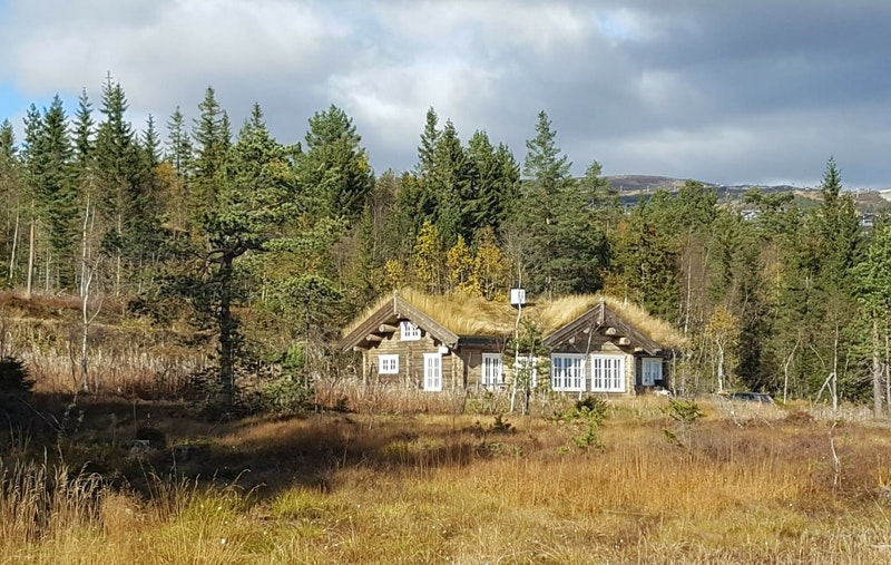 Lekker og forseggjort hytte bygget i 2015