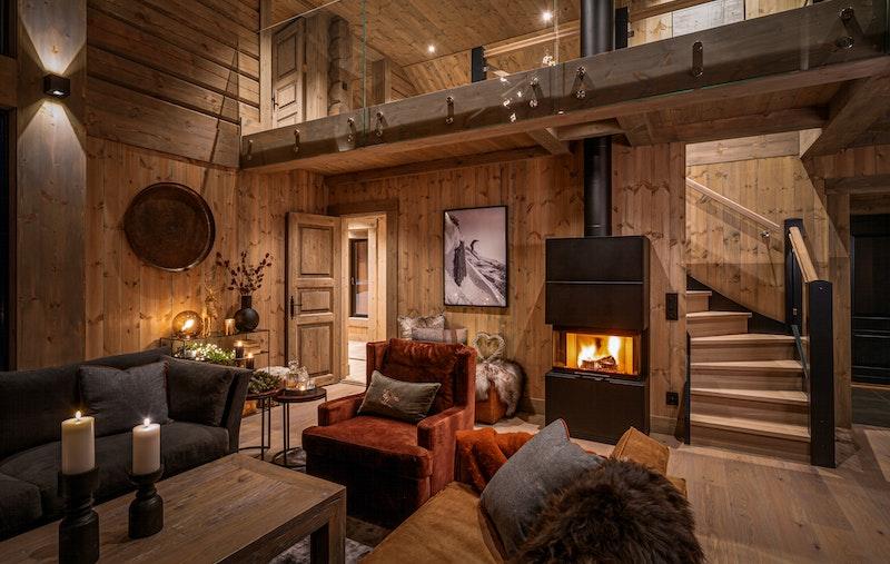 2 stue bilde fra lignende hytte