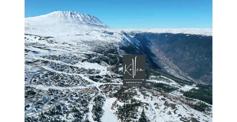 Kollen ved Gaustatoppen og Rjukan