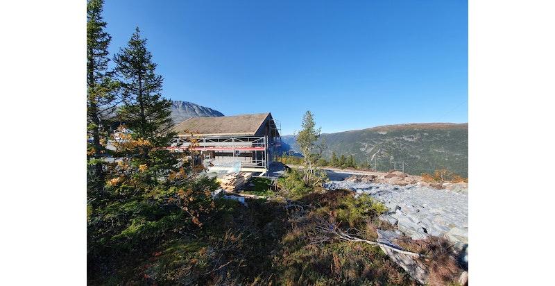 Kollen 205 Panorama 118 bygges nå. Ny hytte til jul 2020?