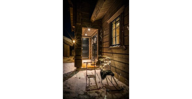 Bilde fra lignende hytte