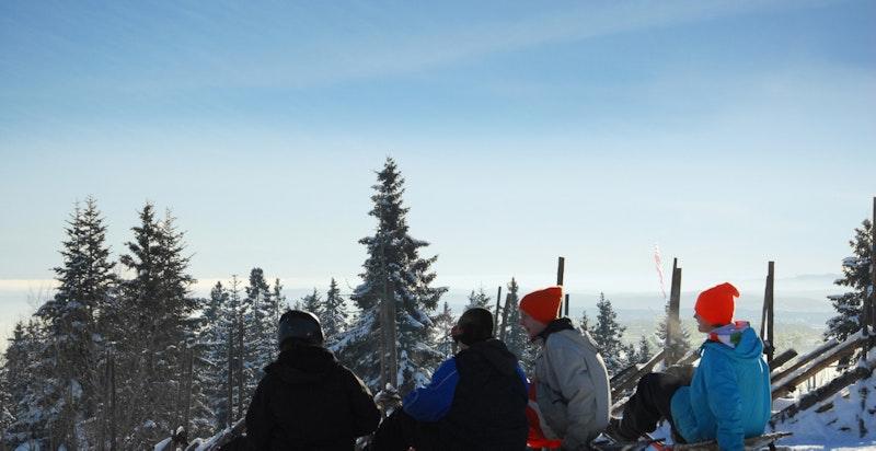 Oslo sommer - og vinterpark ligger innen kort avstand