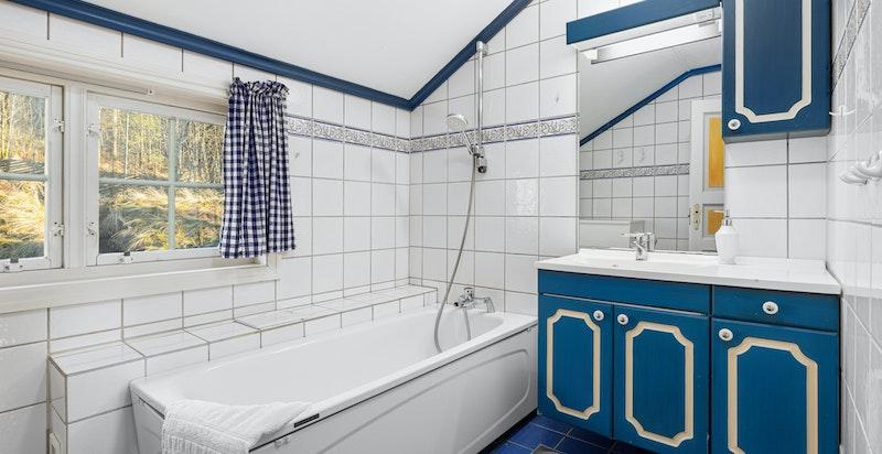 Bad med badekar (sidedel på 150 m²)
