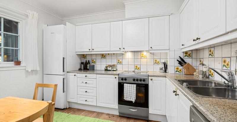 Separat kjøkken (sidedel på 150 m²)