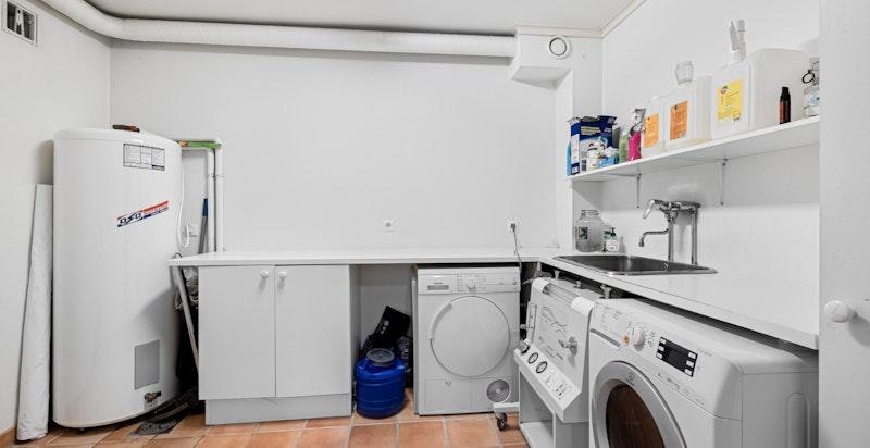 Vaskerom (sidedel på 150 m²)