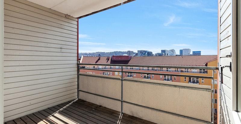 Lys og flott leilighet beliggende i 7. etasje.