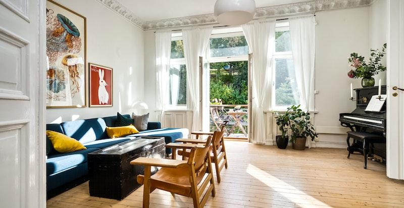 Velkommen til Ullevålsveien 61 A - 3 (4) roms med 2 balkonger og klassisk arkitektur