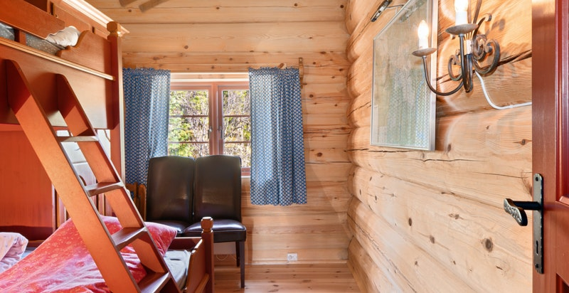 Soverom 3. Muligheter til å bygge sovehems på dette rommet for å få ekstra soveplasser