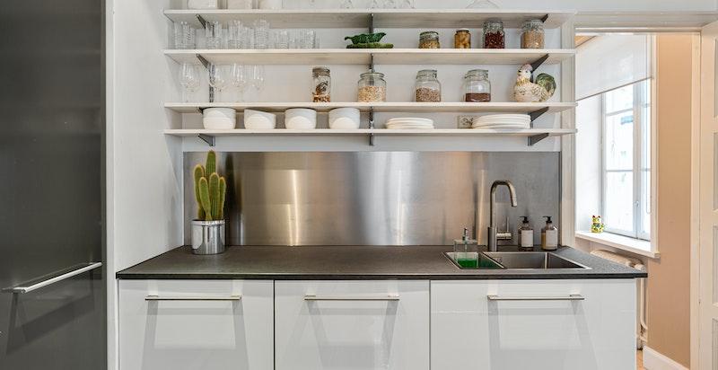 Kjøkkendetalj