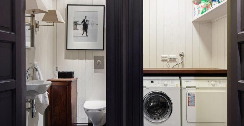 Separat wc og vaskerom