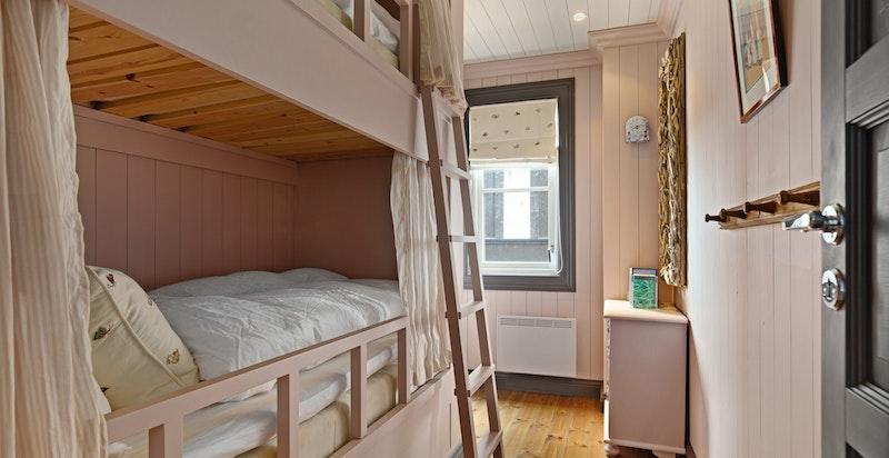 Soverom 4 med plassbygget køyeseng