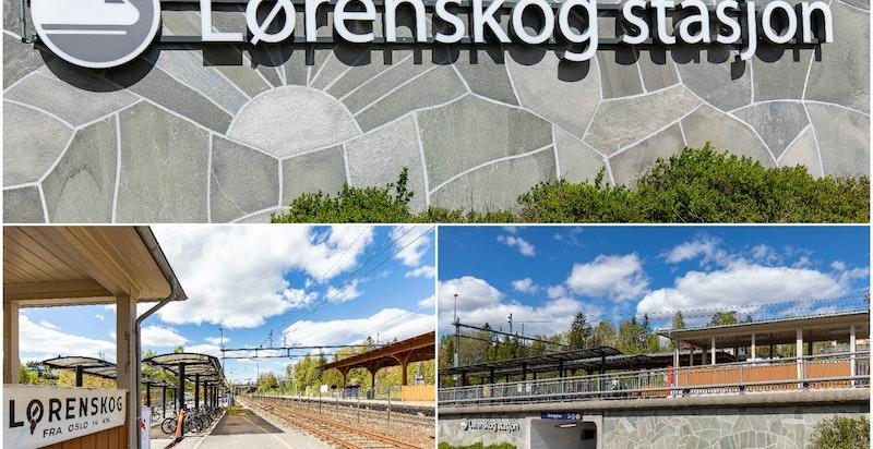 Lørenskog Stasjonsby ligger like ved Lørenskog stasjon som har et godt utbygget kollektivtilbud.