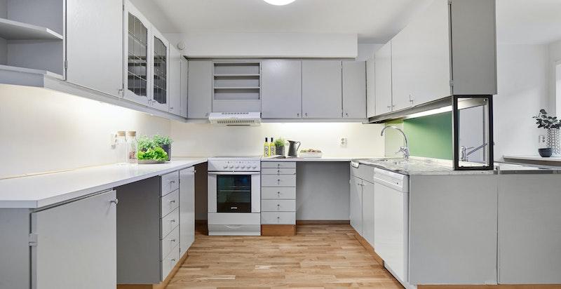Sigdal kjøkkeninnredning fra byggeår.