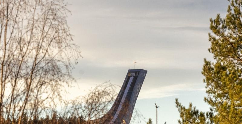 Utsikt mot Holmenkollen