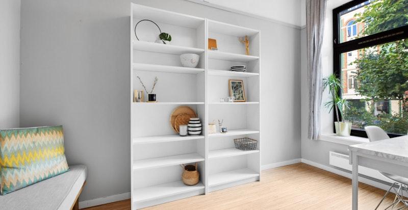 Arbeidsrom/bibliotek