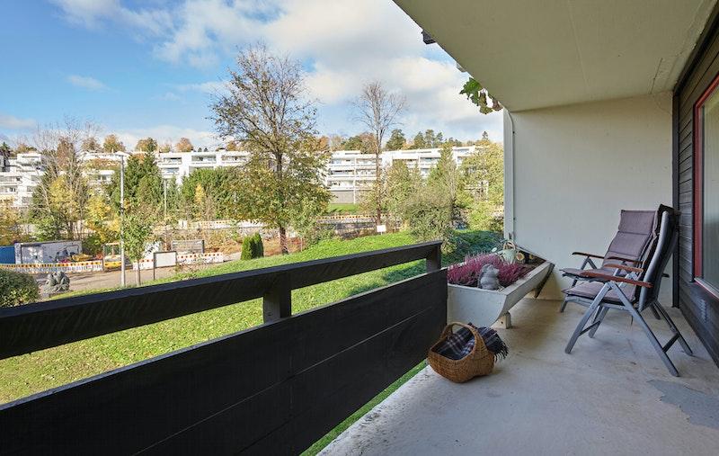 Vestvendt terrasse ca. 10 kvm