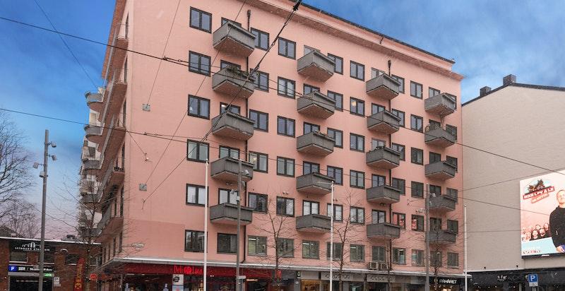 Fasade - Bogstadveien 46