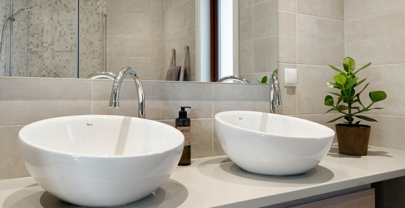 Pent og tidsmessig baderom