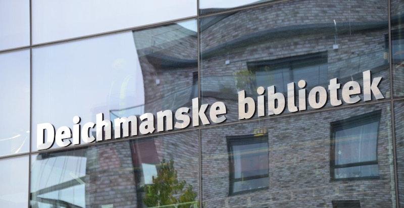 Nærmiljø - Deichmanske ved Lambertseter senter.