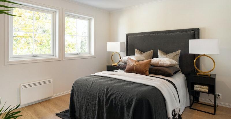 Master bedroom av fin størrelse