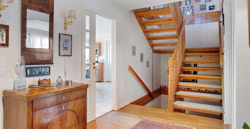 Hall/trappeløpet