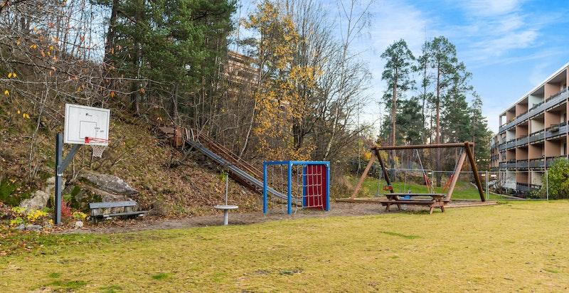 Lekeplass for barn på området
