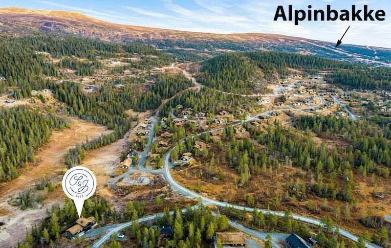 Flott familiehytte i nydelig terreng. 10 min til Norefjell alpinanlegg