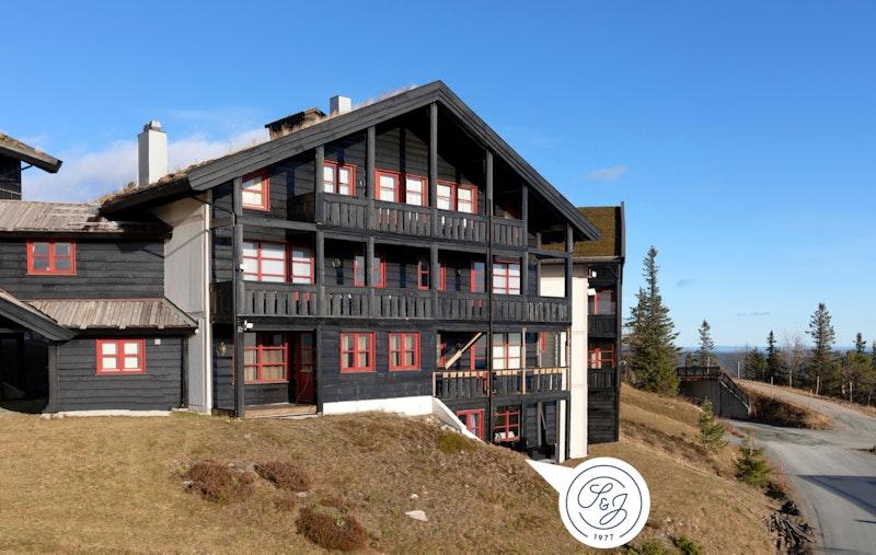 Hygglig leilighet på bakkeplan med direkte adkomt ut til terreng fra terrassen