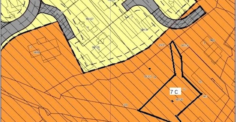 Situasjonskart Fossbergjordet 7 C