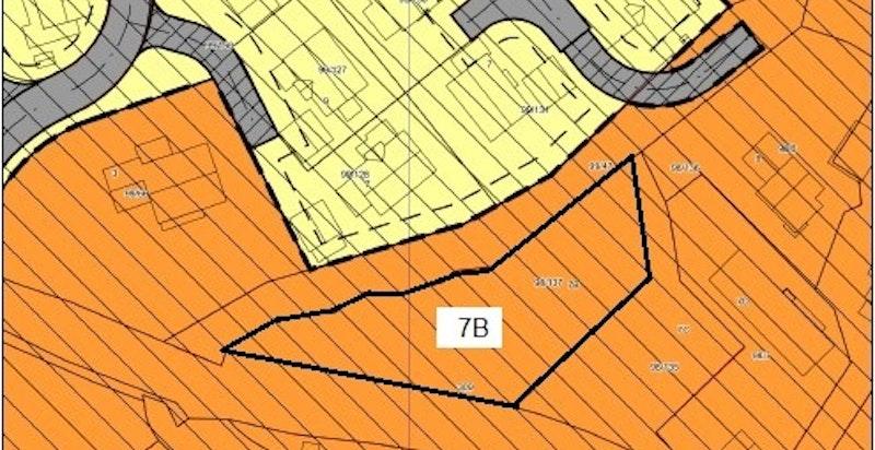 Situasjonskart Fossbergjordet 7 B